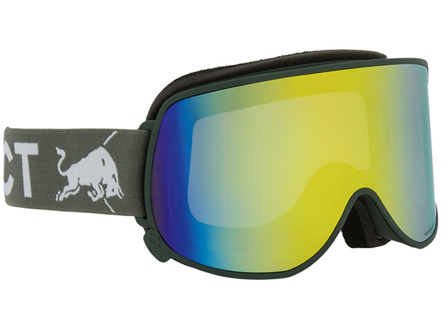Red Bull SPECT Magnetron Eon Lunettes de protection, olive green/yellow snow